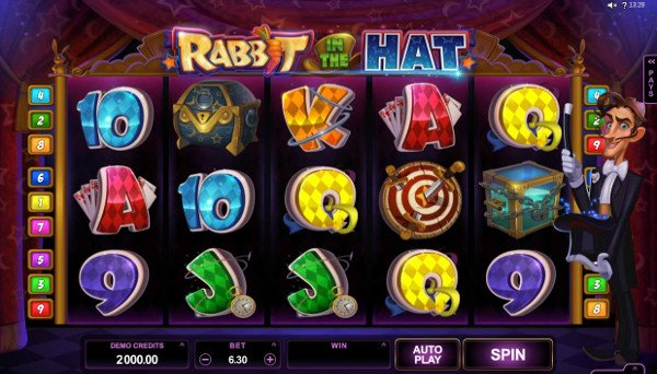 Rabbit in the Hat (Microgaming)
